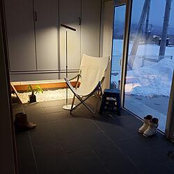玄関/入り口/田舎暮らし/景色の見える窓/雪/自然と暮らす...などのインテリア実例 - 2020-02-11 15:29:50