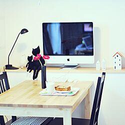 リビング/iMac/ダイニングテーブル&椅子/IKEAのインテリア実例 - 2013-07-13 10:16:19