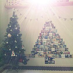 リビング/クリスマス/オーナメント/サンタクロース/クリスマスツリー...などのインテリア実例 - 2015-12-25 12:59:17