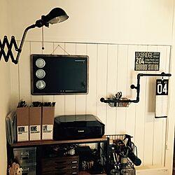 部屋全体/男前/リメイク/DIY/yupinokoさん...などのインテリア実例 - 2015-04-27 10:27:38