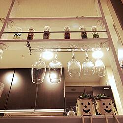 棚/DIY/カルディー調味料/キッチン棚のインテリア実例 - 2018-11-19 18:18:56