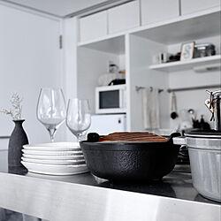 キッチン/掃除好き/掃除しやすい/キッチンカウンター/家事を楽しく...などのインテリア実例 - 2021-05-15 08:05:31
