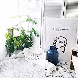 H&M HOME/アンリマティス/賃貸インテリア/壁紙/狭い部屋 ...などのインテリア実例 - 2020-06-11 00:46:46