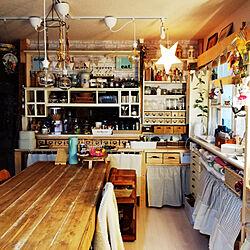 机/天板DIY/手作り/DIY/ニトリ...などのインテリア実例 - 2020-03-07 08:45:39