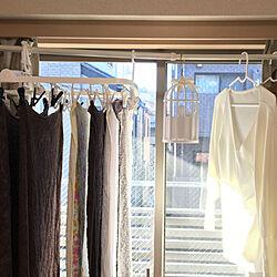 リビング/部屋干し/洗濯干しは室内で/洗濯物/ハンガー...などのインテリア実例 - 2018-12-29 09:24:28