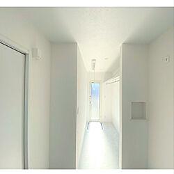ランドリールーム/白い部屋/真っ白な壁/ミックス犬/真っ白な床&壁...などのインテリア実例 - 2020-12-10 00:42:44