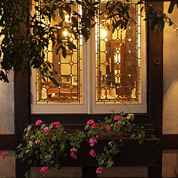 夜景/ポートベロ/窓/アンティーク/窓辺...などのインテリア実例 - 2019-10-30 17:26:49