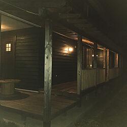 縁側ウッドデッキ/玄関/入り口のインテリア実例 - 2020-05-01 20:18:18