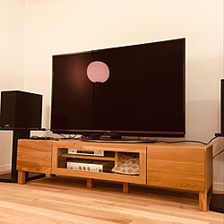 YAMAHAスピーカー/YAMAHA/高野木工/TVボード/テレビ周り...などのインテリア実例 - 2019-11-27 15:59:25