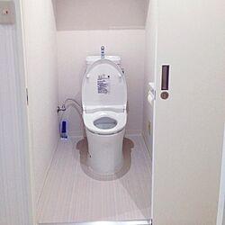 バス/トイレ/White×gray/White/リフォーム/simpleのインテリア実例 - 2014-07-23 12:21:02