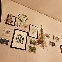 壁/天井/100均/ハンドメイド/植物/壁...などのインテリア実例 - 2019-10-02 23:21:44