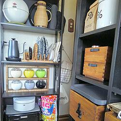 キッチン/古いお家/小さなお家/kitchenは違う感じ/藤のポット...などのインテリア実例 - 2019-05-30 08:11:29