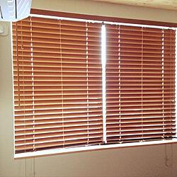 ブラインド/寝室窓/無印良品/ベッド周りのインテリア実例 - 2019-04-06 06:37:58