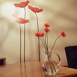 壁/天井/IKEA/IKEAウォールステッカー/手作り/観葉植物...などのインテリア実例 - 2014-04-30 23:25:48