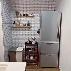 冷蔵庫/モニター応募投稿/キッチンのインテリア実例 - 2021-02-01 22:17:08