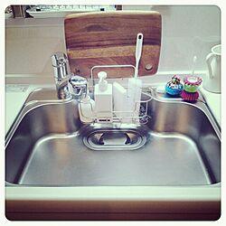 キッチン/シンプル/クリナップ/無印良品/IKEAのインテリア実例 - 2013-11-14 00:14:05