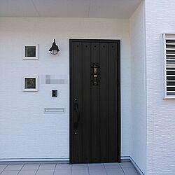 玄関/入り口/玄関/玄関ドア/アイアンのインテリア実例 - 2013-11-08 19:12:49