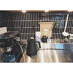 キッチン/スターバックス/デロンギ/BALMUDA/バルミューダ...などのインテリア実例 - 2017-11-03 08:35:18