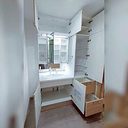 i-cube/アイキューブ/引渡し完了/洗面所と脱衣所が別/一条の家...などのインテリア実例 - 2021-07-26 22:38:31