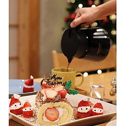 リビング/クリスマス/無垢の家/サンタクロース/イチゴ...などのインテリア実例 - 2020-12-26 18:10:47