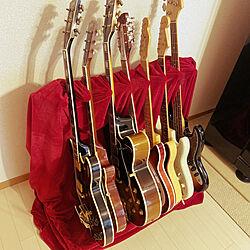 リッケンバッカー/フェンダー/ギブソン/ギター部屋/ギター...などのインテリア実例 - 2021-01-15 08:38:19