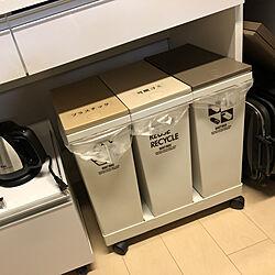 キッチン/キッチンのゴミ箱のインテリア実例 - 2018-01-19 22:57:52