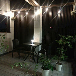 テーブルセット/リビングガーデン/タカショー/庭-KAGU/庭家具...などのインテリア実例 - 2021-04-10 20:26:16