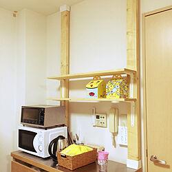 キッチン/2×4材でDIY/ないものは作ってみる/ディアウォール/賃貸...などのインテリア実例 - 2019-01-14 20:12:21