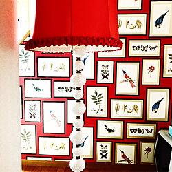 玄関/入り口/カラフル/個性的/派手/壁紙DIYのインテリア実例 - 2018-09-22 15:59:11