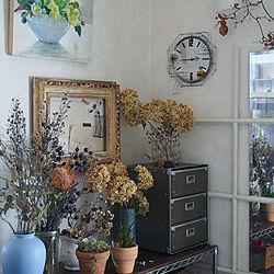リビング/植物のある暮らし/ドライフラワーのある暮らし/暮らしを楽しむ/ディスプレイコーナー...などのインテリア実例 - 2020-02-01 19:28:01