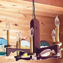 アンファン照明/わが家の明かり/ペイント大好き!/トールペイント♡/壁/天井のインテリア実例 - 2021-08-01 09:17:45