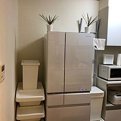 冷蔵庫がアイテムに出て来ない/3M/IKEAごみ箱/IKEA/レンジは2001年製のSHARP...などのインテリア実例 - 2019-05-26 19:56:25