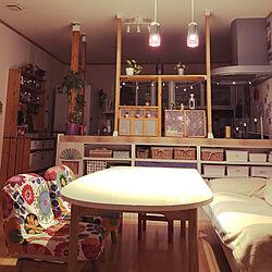 キッチン/カフェ風インテリア/照明/観葉植物/IKEA...などのインテリア実例 - 2018-11-23 00:00:52