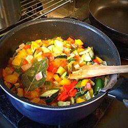キッチン/夏野菜のインテリア実例 - 2013-06-17 18:29:09