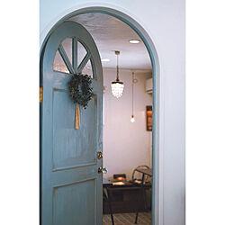 玄関/入り口/小さなカフェ/小さなアトリエ/アトリエ入り口/カフェに間違われたい...などのインテリア実例 - 2019-01-22 18:38:47