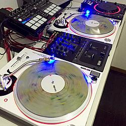 棚/sl-1200/dj/DJ ブース/IKEA...などのインテリア実例 - 2018-04-07 19:45:55