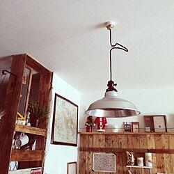 壁/天井/JUNK/カフェ風を目指して/照明/雑貨のインテリア実例 - 2013-11-24 13:10:39