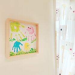 1歳記念♡/家族の手型/手型アート/こどもと暮らす/子どものいる暮らし...などのインテリア実例 - 2020-08-07 21:07:15