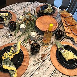 キャンドルスタンド/セメント/食卓/テーブルコーディネート/テーブルウェア...などのインテリア実例 - 2020-05-21 23:04:26