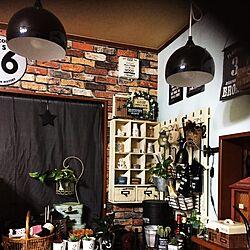 壁/天井/LED電球/コメリの。/すのこ/壁紙屋本舗さん...などのインテリア実例 - 2017-02-01 03:19:11
