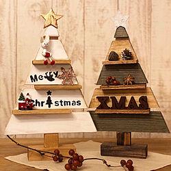 ペイント/ハンドメイド/木製ツリー/クリスマス/DIYのインテリア実例 - 2019-11-21 22:05:46