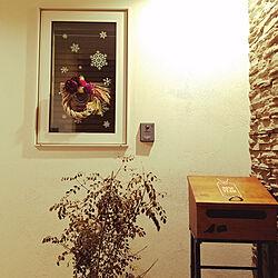 玄関/入り口/お正月/北欧/住居は2階/冬支度...などのインテリア実例 - 2017-12-31 23:27:54