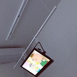 洗濯干し/寝ながらテレビ/映画鑑賞/ベッド周りのインテリア実例 - 2019-03-21 06:42:01