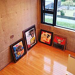 アートポスター/アート作品/アート/アートをインテリアに取り入れたいのインテリア実例 - 2016-04-26 02:26:04