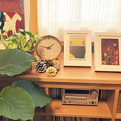 棚/絵画/谷口智則さんの作品/IKEA/ピアノのある部屋...などのインテリア実例 - 2018-04-08 13:52:09
