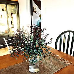 ユーフォルビアブラックバード/庭の花/古いもの/机のインテリア実例 - 2020-09-19 17:02:03