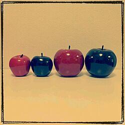 リビング/オブジェ/フランフラン/同じものを並べたい/りんご...などのインテリア実例 - 2013-08-23 23:23:13