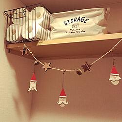 バス/トイレ/クリスマスディスプレイ/クリスマス/セリア/一人暮らし...などのインテリア実例 - 2018-11-12 18:39:07
