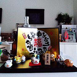 キッチン/お正月ディスプレイ/生協カタログ/お正月のインテリア実例 - 2014-12-29 07:34:28