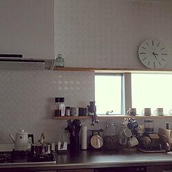 キッチン/タイル/うめシロップのインテリア実例 - 2020-06-25 17:16:43